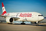 Flying on Austrian Airlines' Boeing 777 to Cape Town