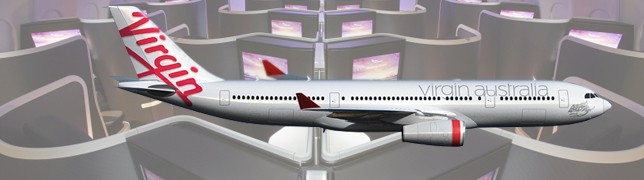 Crossing Australia in Virgin`s A330