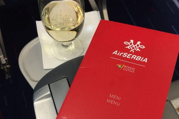 Air Serbia Airbus A319 Business Class