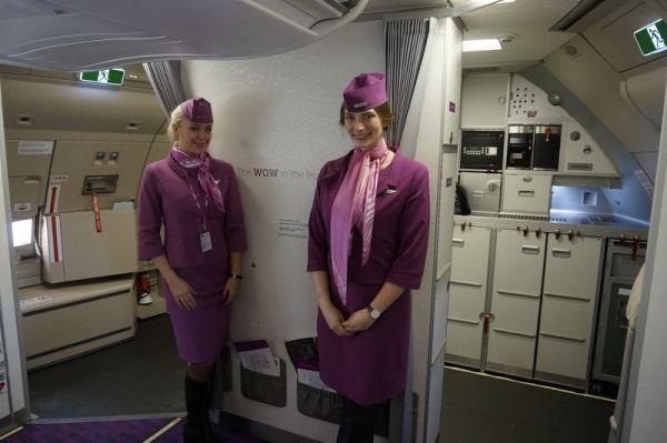 WOW air Airbus A330 Crew