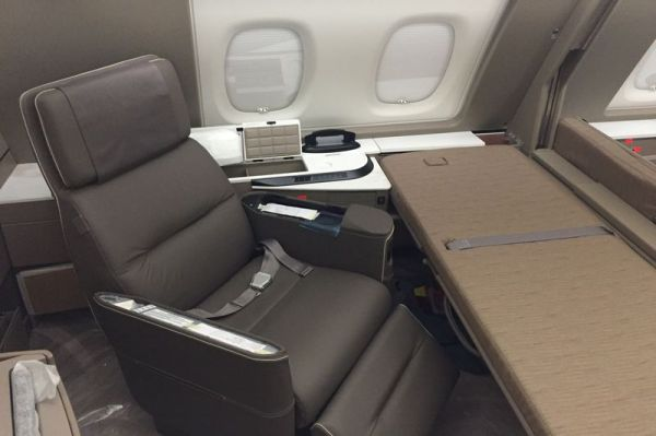 Singapore Airlines Airbus A380 (2017) First Class Suite