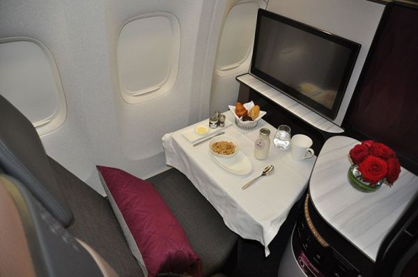 Qatar Airways A350-1000 QSuite Business Class