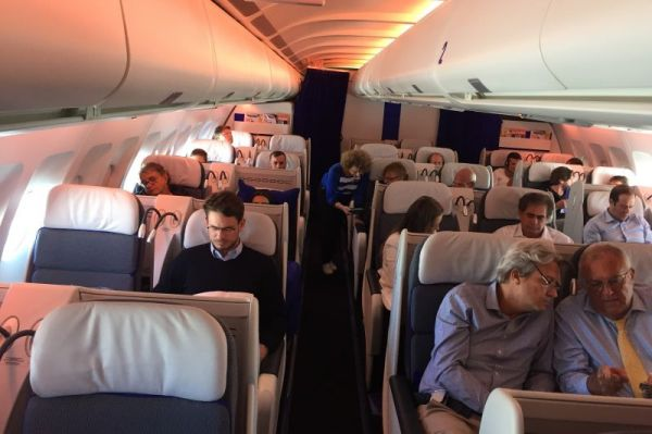 Joon Airbus A340-300 Business Class